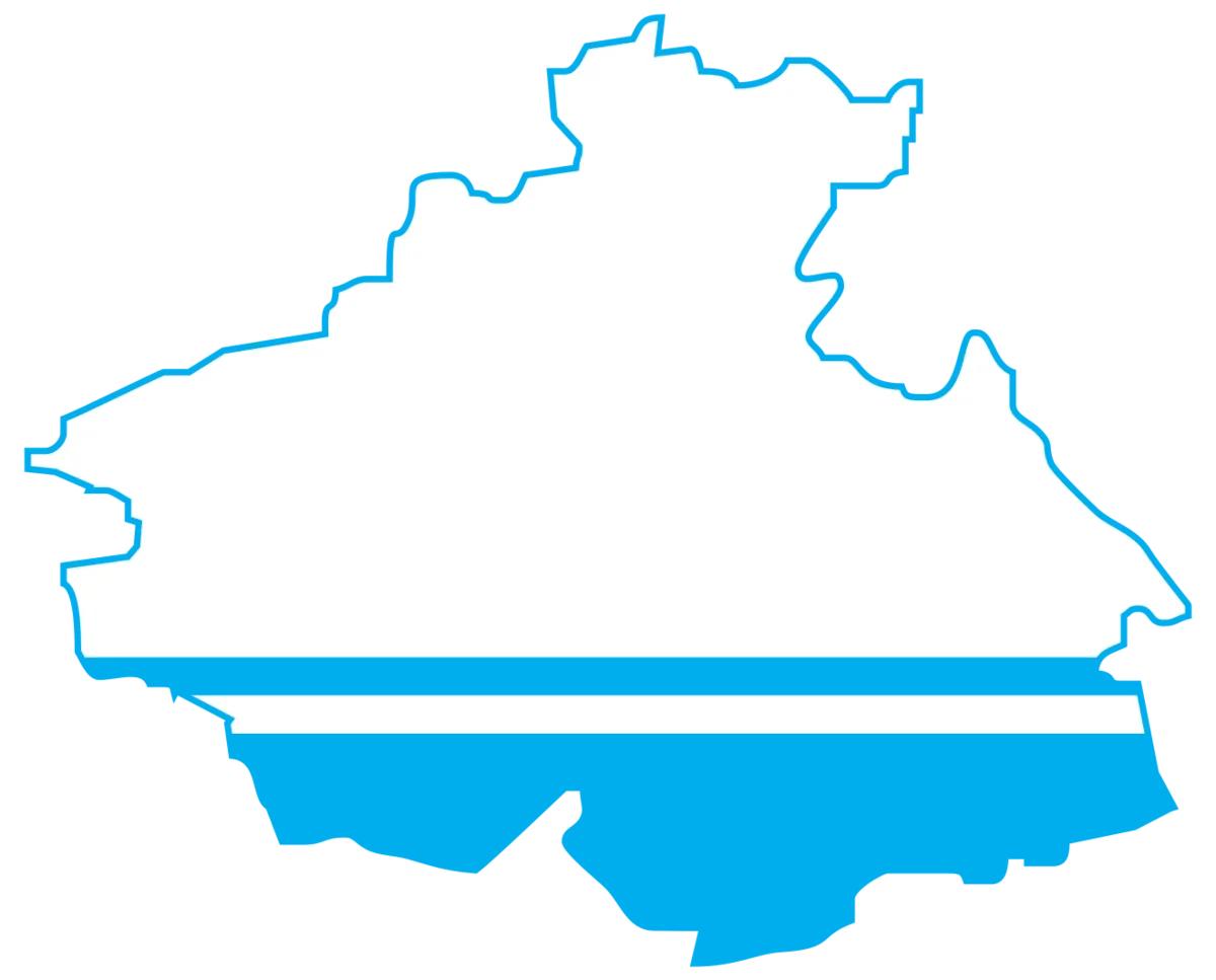 """Карта текущей погоды по территории ФГБУ """"Западно-Сибирское УГМС"""""""